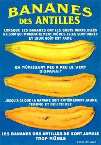 banane jaune ou banane verte
