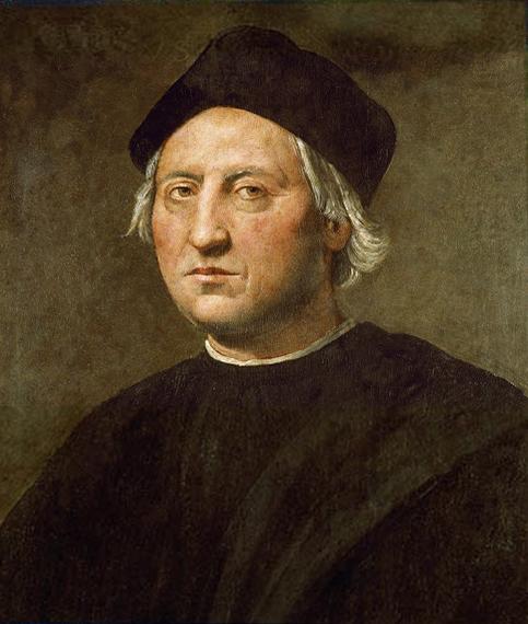 Portrait de Christophe Colomb peint par Ridolfo Ghirlandaio