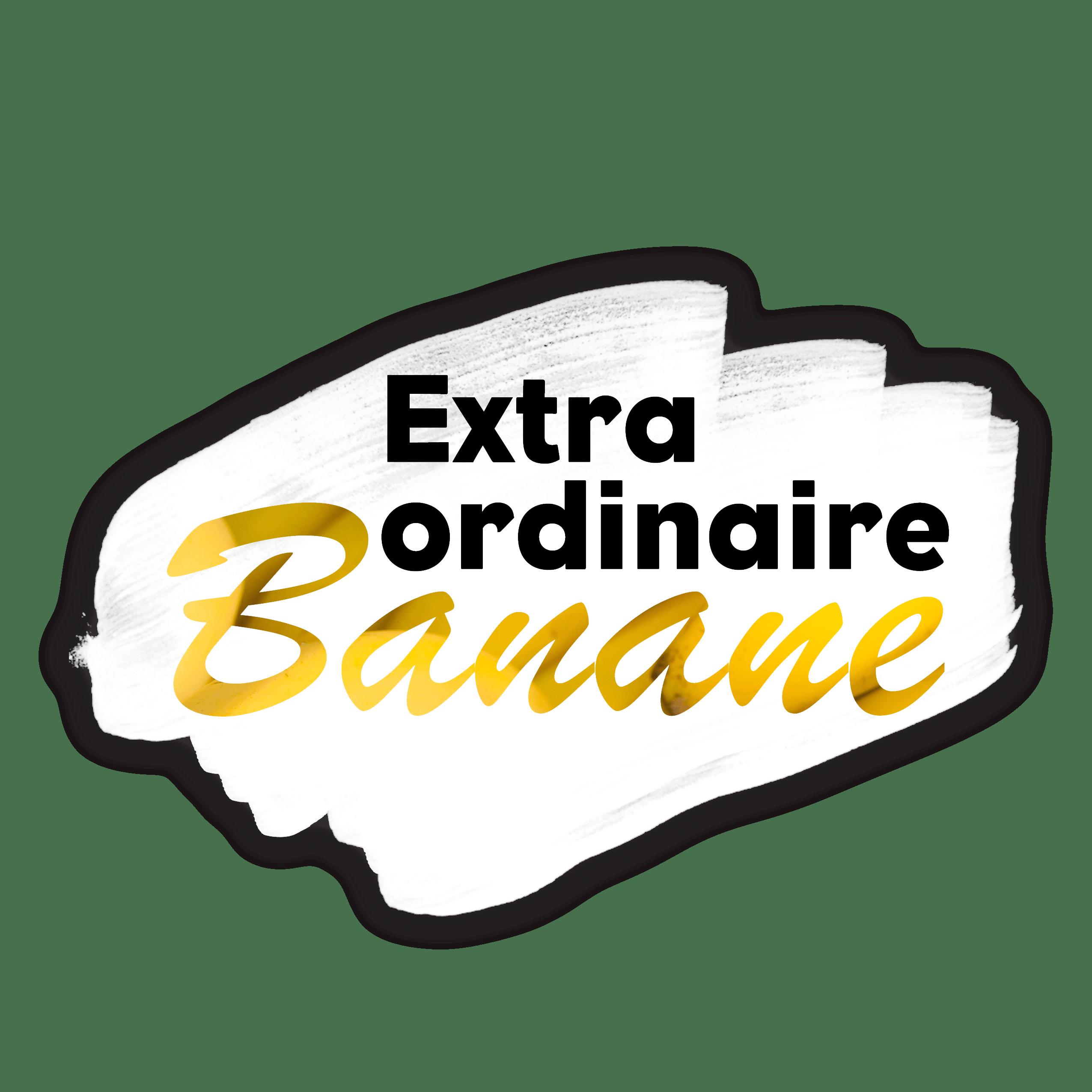 Logo Extra Ordinaire Banane