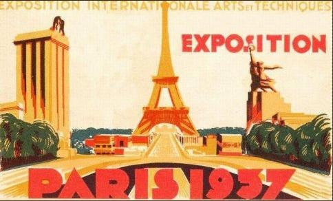 Affiche de l' Exposition universelle de 1937