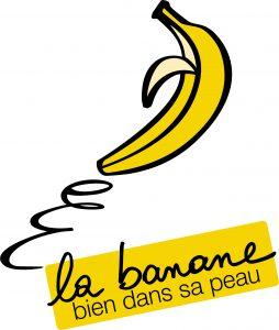 "Logo ""La banane bien dans sa peau"""