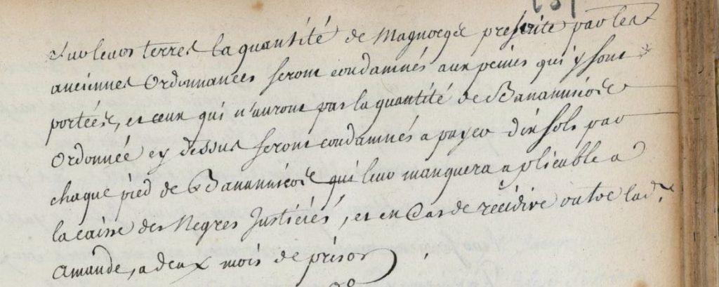 Ordonnance 1736