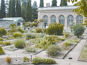 L'orangerie du jardin des Plantes de Montpellier
